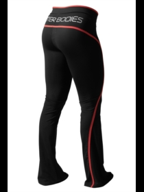 Better Bodies Black/Red Shaped Jazzpant