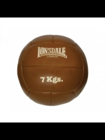 Lonsdale Authentic Leather Medicine Ball (5Kg)